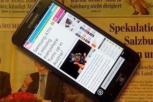 Samsung Ativ S: Könnte seine Weltpremiere in Österreich gefeiert haben.
