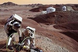 Einen Monat lang soll im Februar 2013 in der Wüste Marokkos ein Aufenthalt auf dem Mars simuliert werden.