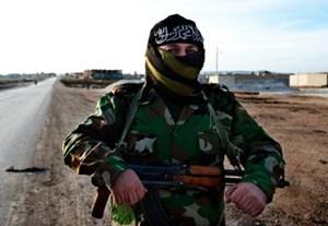 """Im syrischen Bürgerkrieg kämpft Abu Talha für die al-Nusra-Front, die ein Jahr nach Gründung bis zu 10.000 Mitglieder gewonnen hat. Bis 2011 war er in syrischer Haft - """"dann organisierten wir uns und beteiligten uns am Jihad""""."""