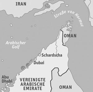 Anreise & InfoAnreise zum Beispiel mit Egypt Air. Nächstes Sharjah Light Festival voraussichtlich von 7.-15. 2. 2013. Touristische Infos: www.sharjahtourism.ae