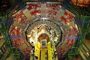 Erst die riesigen Datenmengen, die die großen Detektoren wie das CMS am CERN in Genf liefern, ermöglichen eine fundierte Aussage über den Aufbau der Materie.