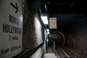 Auch der Untergrund der Autofahrerstadt Los Angeles orientiert sich an der Kinotraumfabrik.