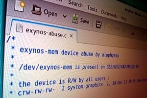 Es kursiert bereits ein funktionstüchtiger Exploit für die Sicherheitslücke im Kernel für Exynos-4-Geräte.