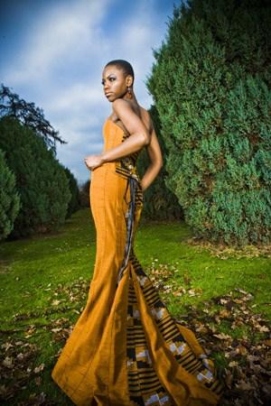 """Osunkoya: """"Ich verwende afrikanische Elemente gerne auf subtile Weise.""""Mehr Mode von Yemi Osunkoya auf: www.kosibah.co.uk"""