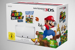 "Nintendo 3DS mit ""Super Mario 3D Land"""