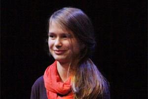 "Jana Podbelsek gewann beim ""Wiener City Literaturfestival""."