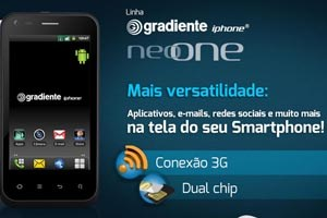 Brasiliens iPhone läuft mit Android 2.3.4.