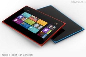 Fan-Rendering: So könnte ein Tablet im Lumia-Design aussehen.