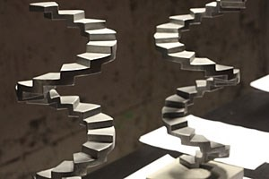Die von Valie Export entworfenen Filmpreis-Skulpturen.