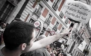 Vom Tahrir Platz in Kairo zur Puerta del Sol in Madrid.