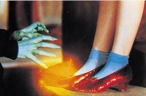 """Mit roten Schuhen im Zauberland: """"The Wizard of Oz"""", ein farbenprächtiger Klassiker im Filmmuseum."""