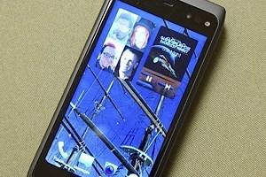 """Eine frühe Version von Jollas """"Sailfish OS"""" auf einem Nokia N950 - später soll dies auf eigener, neuer Hardware laufen."""