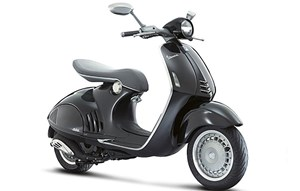 Vespa dominierte den Zweirad-Markt und vermehrte sich um ein Viertel.