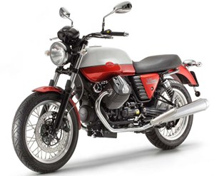 Der sentimentale Sieger: die Moto Guzzi V7 special.
