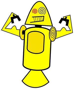 Einer der Entwürfe: Offenbar ein kräftiger Roboter.