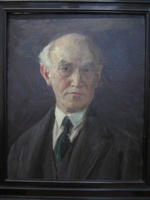 172 von ihm eingelagerte Bilder gingen in der NS-Zeit verloren, seine Signatur wurde von den Nationalsozialisten übermalt, sein Name ausgelöscht: Jehudo Epstein - hier auf einem Selbstporträt aus den 1930er-Jahren, das sich im Jüdischen Museum Wien befindet.