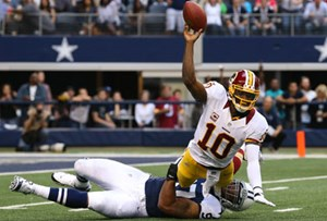 Washington holte sich in Woche 17 den ersten Divisionstitel seit 1999. RG3 & Co empfangen Sonntagabend Russell Wilson und die Seattle Seahawks in einem Wildcard-Duell zweier Rookie-Quarterbacks.