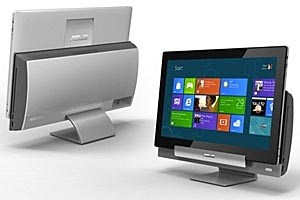 Transformer AiO: All-in-One-PC mit Windows nebst integriertem Android-Tablet.