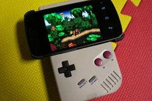 """Spielen wie einst: Donkey Kong """"am"""" Game Boy."""