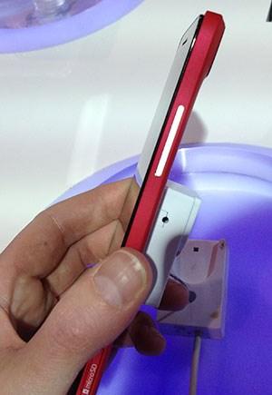 Mit 6,8 mm an der dünnsten Stelle ist das Grand S ein besonders schlankes Smartphone.