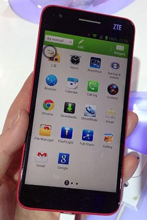 ZTE hat mit dem Grand S ein neues Android-High-End-Modell vorgestellt.
