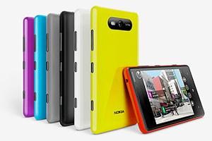 Besitzer eines Lumia 820 können sich die Rückseite für das Smartphone selbst ausdrucken.