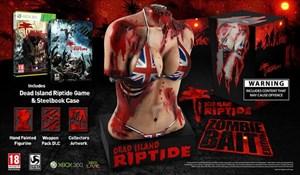 """Für einen Sturm der Entrüstung hat Deep Silver mit der """"Zombie Bait""""-Sonderedition von """"Dead Island Riptide"""" gesorgt."""