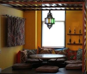 Die orientalische Ecke.