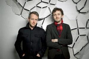 Die französischen Topdesigner Ronan und Erwan Bouroullec.