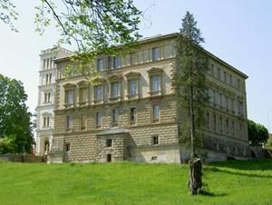 Das Schloss Rappoltenkirchen.