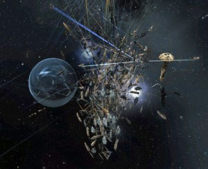 """Massenschlacht in """"Eve Online"""". Haben Sie mitgefochten?"""