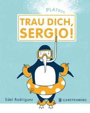 Pinguin Sergio mag Fußball, Fische - und natürlich Wasser.
