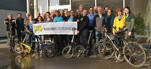 VertreterInnen aller Radverkehrsvereine Österreichs begründeten am 26. Jänner in Salzburg die Radlobby Österreich.