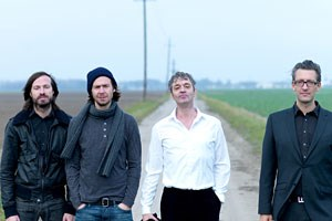 Streitbarer Pop: Naked Lunch alias Alex Jezdinsky, Herwig  Zamernik, Oliver Welter und Stefan Deisenberger.