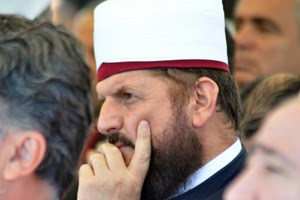 Shefqet Krasniqi, Imam in Prishtina, fordert Religionsfreiheit.
