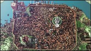 "King's Landing in ""Minecraft""."