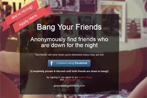 """""""Bang with friends"""" soll auf eine einfache Art und Weise Menschen """"näher"""" zusammenbringen"""