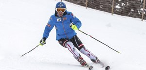 Vier Tage mit voller Intensität hat Schild erst in den Skischuhen. Am Donnerstag wird noch in Hinterreit trainiert.
