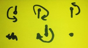 Um manche Rätsel lösen zu können, musste man beizeiten zu Stift und Zettel greifen. Welches Geheimnis wohl hier entschlüsselt wurde?