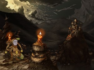 """...oder das melancholisch angehauchte Fantasy-Abenteuer """"The Whispered World""""."""