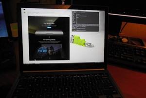 Linux Mint auf dem Chromebook Pixel - noch nicht vollständig überstützt, aber gegenüber früheren ChromeOS-Geräten relativ leicht zu installieren.