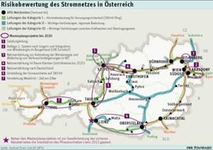 """Einer der Knotenpunkte eines """"Super Grids"""" zur Entlastung bestehender EU-Netze und damit erneuerbare Energie bis 2030 könnte in Österreich liegen. Fixiert werden die Routen EU-weit in sogenannten Transeuropäischen Netzen (TEN) wie im Verkehr. Einen Masterplan gibt es noch nicht."""