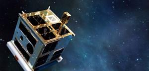 Kreist seit Montagnachmittag in 800 Kilometern Höhe um die Erde: der Nano-Satellit UniBrite der Uni Wien.