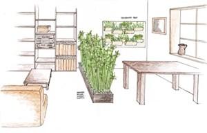 Gr ner wohnraum das fenster zur natur bauen wohnen umbauen sanieren - Zimmerpflanze sonnig ...