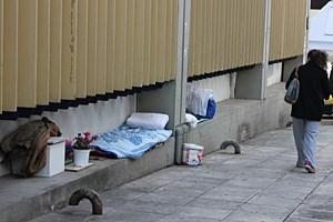 Im noblen Viertel am Südhang des Lykavittós: Zwei Schlafstätten.