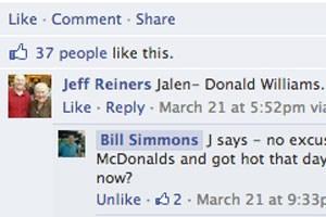 Facebook führt Antwortmöglichkeiten für Kommentare ein.