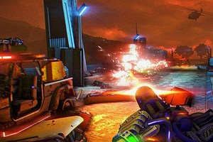 "Screenshot aus ""Far Cry 3: Blood Dragon"""
