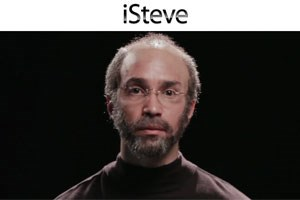 Justin Long als Steve Jobs.