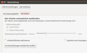Abgang von einem Linux-Klassiker: Die Nutzung mehrerer Workspaces ist nun von Haus aus deaktiviert.