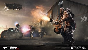 "Screenshots zu ""DUST 514"""